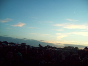 Sky clears at Hop Farm 2012